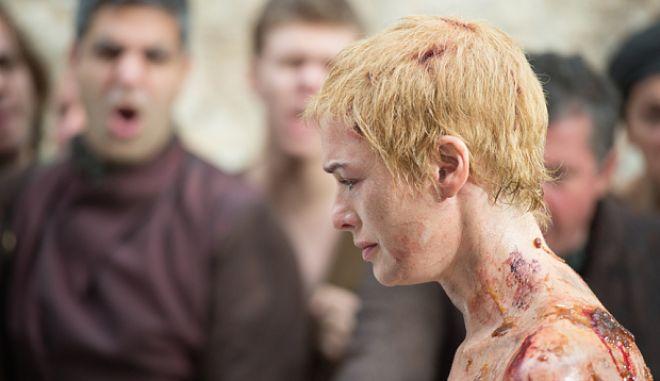 Game of Thrones Series 5  Season 5 Episode 10 handout ... Game of Thrones, Series 5,Episode 10,Mother's Mercy,Sky Atlantic,  Headey, Lena as Cersei Lannister