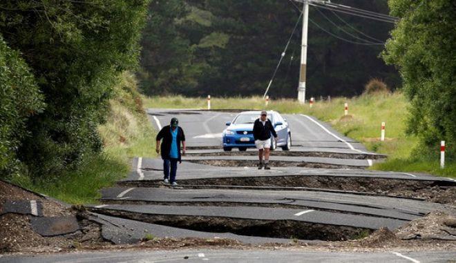 Νέα Ζηλανδία: Κανένας κίνδυνος τσουνάμι από τον ισχυρό σεισμό