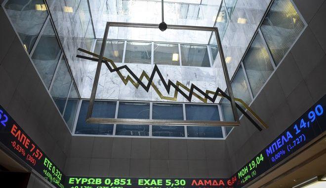 Πρώτη συνεδρίαση του Χρηματιστηρίου Αθηνών για τη νέα χρονιά την Τρίτη 2 Ιανουαρίου 2017. (EUROKINISSI/ΤΑΤΙΑΝΑ ΜΠΟΛΑΡΗ)