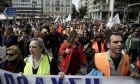 Φωτό αρχείου: Πορεία και συγκέντρωση συμβασιούχων