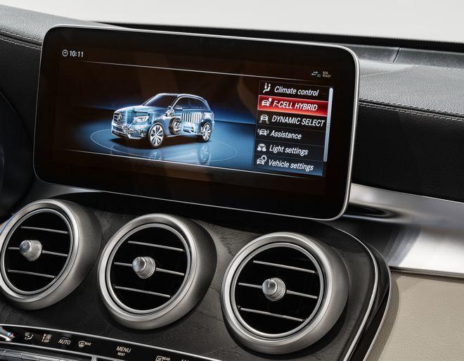 Όλα τα συστήματα υποβοήθησης ασφάλειας της Mercedes-Benz, είναι στάνταρ στο GLC F CELL