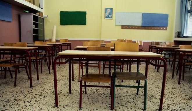 Αγιασμός για την νέα σχολική χρονιά στγμιότυπα από το 6ο Δημοτικό σχολείο στο Μενίδι,Δευτέρα 11 Σεπτεμβρίου 2017 (EUROKINISSI/ΓΙΑΝΝΗΣ ΠΑΝΑΓΟΠΟΥΛΟΣ)