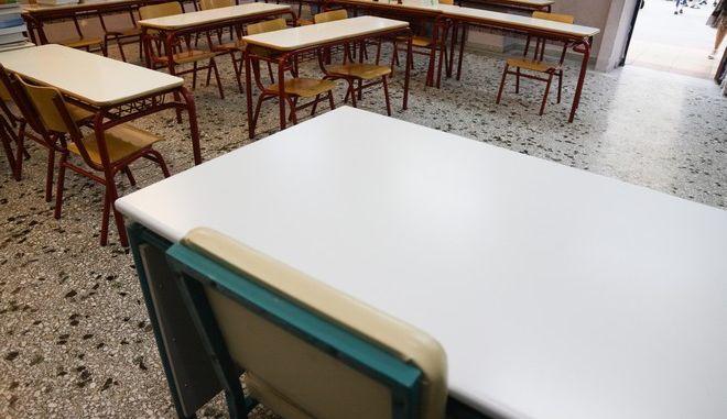 Στιγμιότυπo από το 7ο Δημοτικό σχολείο στο Γαλάτσι