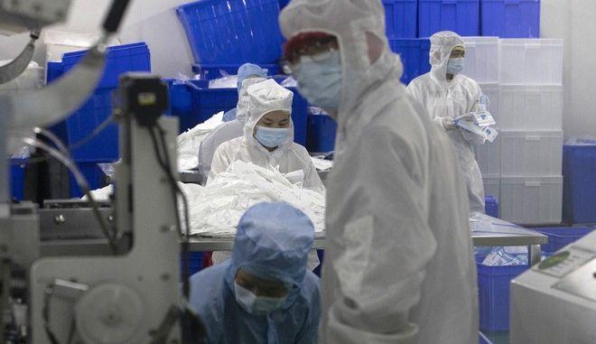 Εργαστηριακές μελέτες στην Κίνα