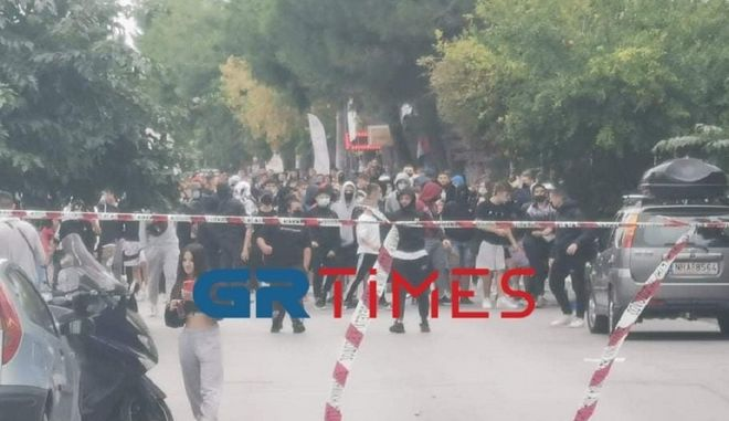 Θεσσαλονίκη: Επεισόδια έξω από το ΕΠΑΛ Ευόσμου