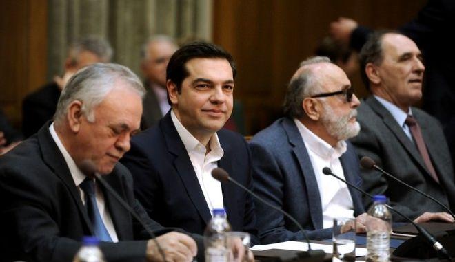 Συνεδρίαση του Υπουργικού Συμβουλίου την Τετάρτη 10 Φεβρουαρίου 2016. (EUROKINISSI/ΤΑΤΙΑΝΑ ΜΠΟΛΑΡΗ)