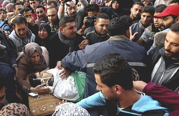 Θρήνος για Παλαιστίνιο νεκρό