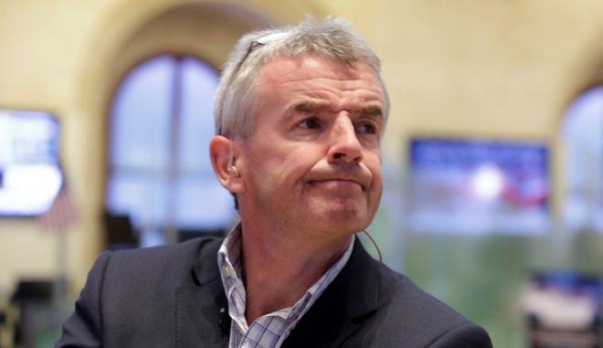 Ο εκτελεστικός διευθυντής της Ryanair Μάικλ Ο' Λίρι
