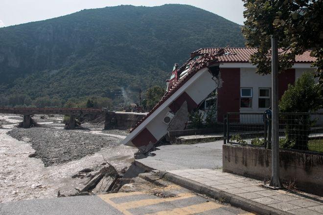 Η επόμενη ημέρα των καταστροφών από την κακοκαιρία