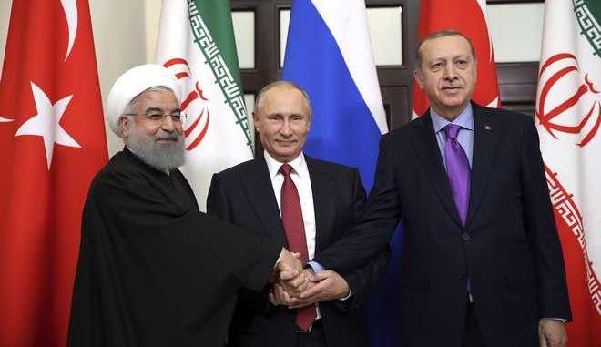 Τριμερής Ερντογάν- Πούτιν - Ροχανί τον Απρίλιο στην Τουρκία