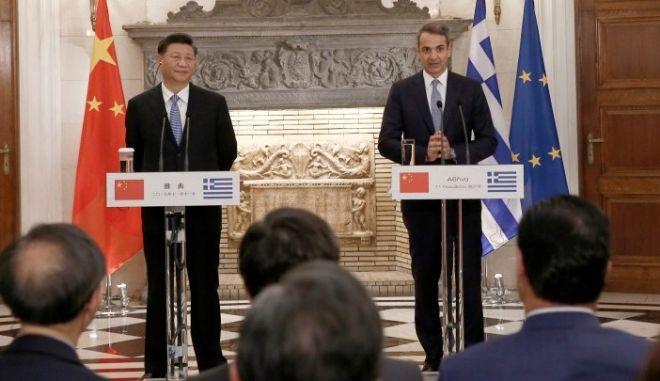 Μητσοτάκης: Διευρύνουμε τη σχέση μας με την Κίνα, τώρα που η Ελλάδα αναλαμβάνει πρωταγωνιστικό ρόλο ξανά