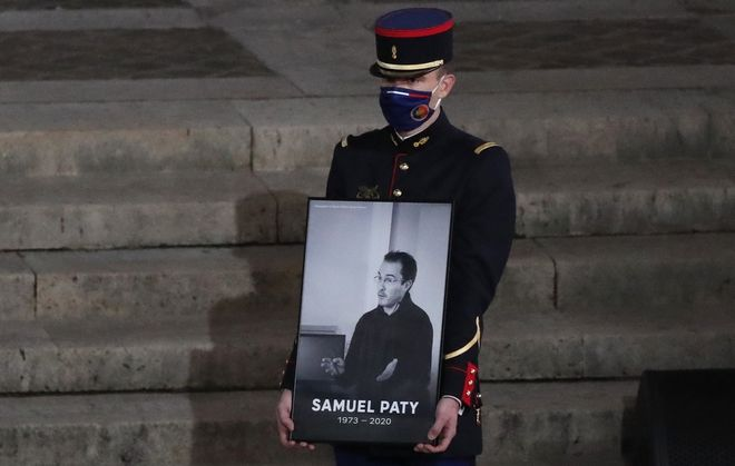 Φόρος τιμής για τον Samuel Paty