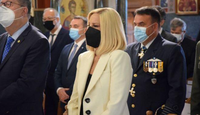 Η Πρόεδρος του Κινήματος Αλλαγής, Φώφη Γεννηματά, στην Τρίπολη.