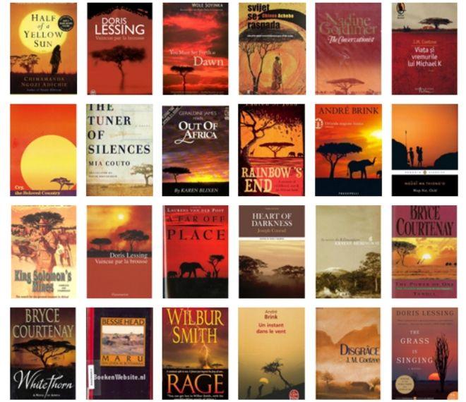 Γιατί τα περισσότερα βιβλία στην Αφρική έχουν το ίδιο εξώφυλλο. Και δεν είναι ωραίο