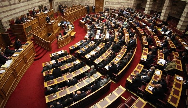 ΑΘΗΝΑ-ΒΟΥΛΗ-Στην Ολομέλεια η τροπολογία για τις τηλεοπτικές άδειες.(Eurokinissi-ΖΩΝΤΑΝΟΣ ΑΛΕΞΑΝΔΡΟΣ)