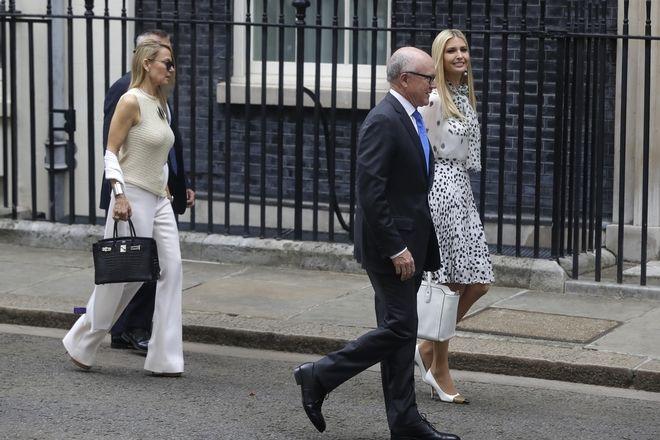 Η Ιβάνκα Τραμπ στη Βρετανία
