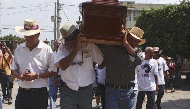 Μεξικανός εξελέγη δήμαρχος μετά τη φρικτή δολοφονία του από καρτέλ ναρκωτικών