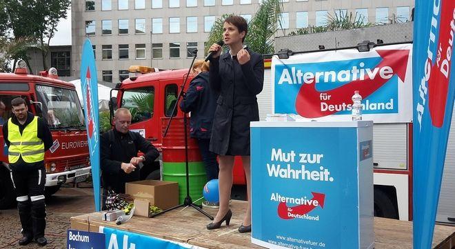 H Φράουκε Πέτρι είναι ο Ντόναλντ Τραμπ της Γερμανίας