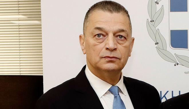 Ο υφυπουργός Εθνικής Άμυνας, Αλκιβιάδης Στεφανής