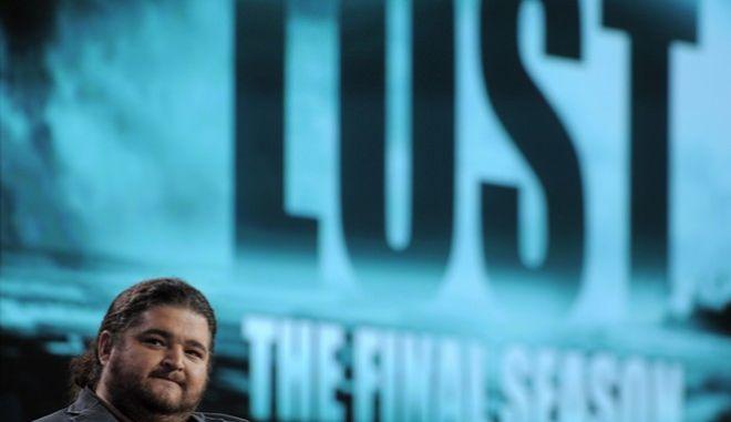 O Jorge Garcia, στο πάνελ της Disney ABC Television Critics Association, το Γενάρη του 2010, πριν την έκτη και τελευταία σεζόν του 'Lost'.