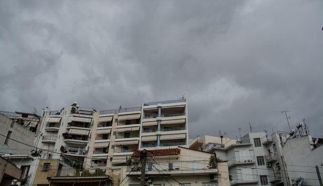 Στιγμιότυπο από την Αθήνα - φωτογραφία αρχείου