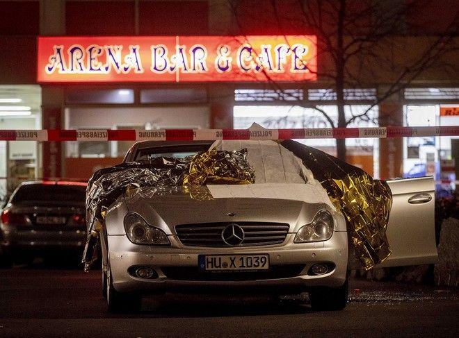 Μακελειό στη Γερμανία: Eπίθεση σε μπαρ με ναργιλέδες - 11 νεκροί, ανάμεσά τους ο δράστης