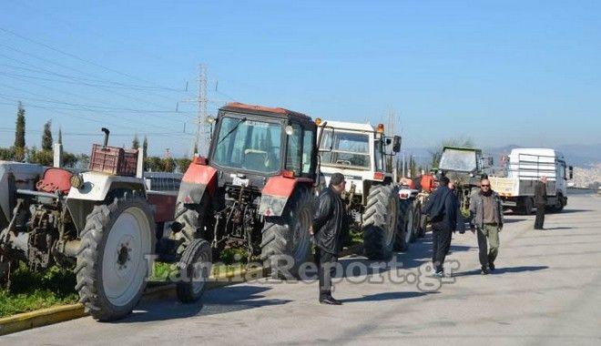 Μικρή η συμμετοχή των αγροτών στο μπλόκο Ανθήλης