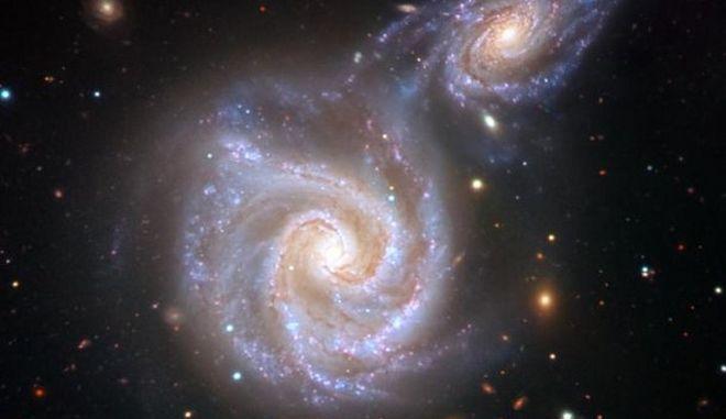 """Ανακαλύφθηκε πανάρχαια μετωπική σύγκρουση του γαλαξία μας με το """"Λουκάνικο"""""""