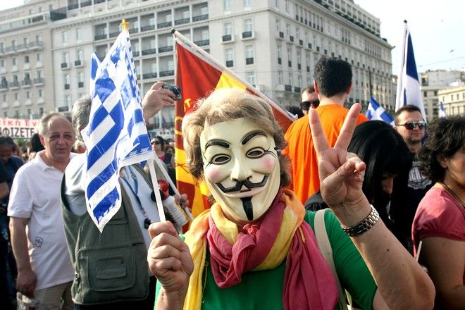 Από τις εκδηλώσεις στο Σύνταγμα το καλοκαίρι του 2011