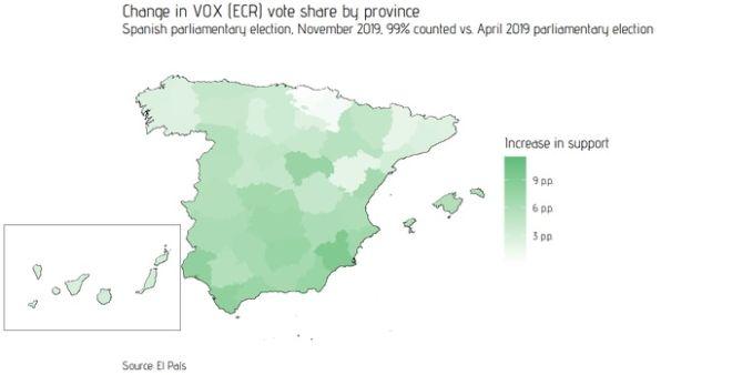Τέσσερα συμπεράσματα από τις εκλογές στην Ισπανία