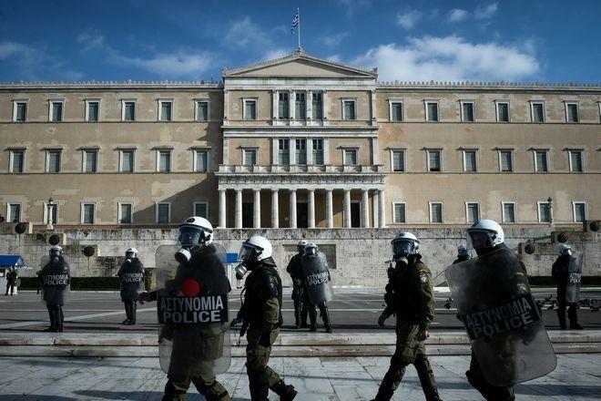 Μαθητικό συλλαλητήριο στην επέτειο των έντεκα χρόνων από την δολοφονία του Αλέξανδρου Γρηγορόπουλου, την Παρασκευή 6 Δεκεμβρίου 2019