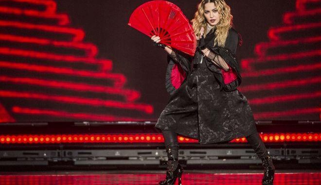 Madonna. Φωτό αρχείου