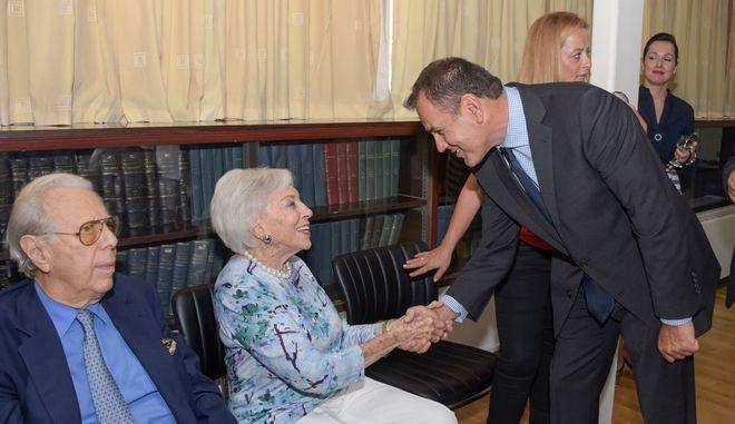 Ο Υπουργός Εθνικής Άμυνας κ. Νικόλαος Παναγιωτόπουλος, την Πέμπτη 12 Σεπτεμβρίου 2019, εγκαινίασε την ανακαινισμένη Νοσηλευτική Πτέρυγα του Χειρουργικού Τομέα (4Ν) του Ναυτικού Νοσοκομείου Αθηνών (ΝΝΑ)
