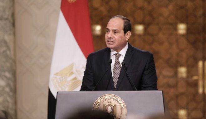 Ο Αιγύπτιος πρόεδρος Αλ Σίσι
