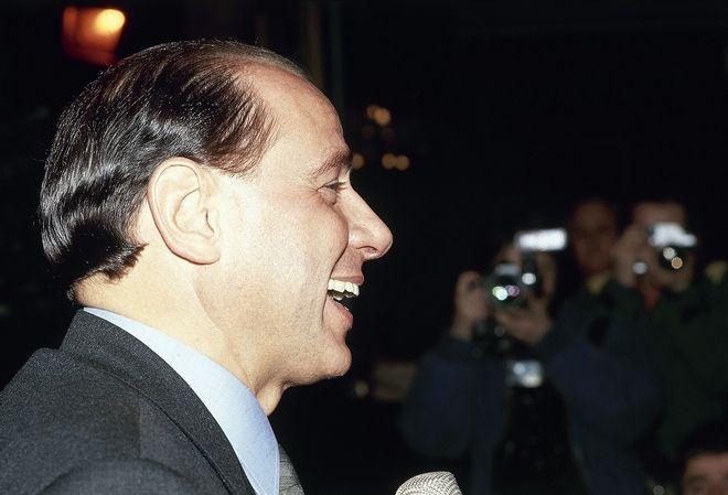 Ο Silvio Berlusconi