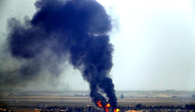 Στιγμιότυπο από τον πόλεμο στη Συρία