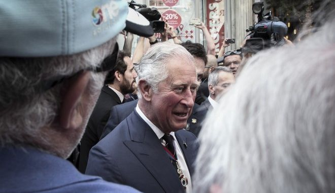 Επίσκεψη του Πρίγκηπα Καρόλου και της Δούκισσας της Κορνουάλης Καμίλα στην Καπνικαρέα