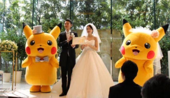 Γάμοι με θέμα Πόκεμον, Ιαπωνία