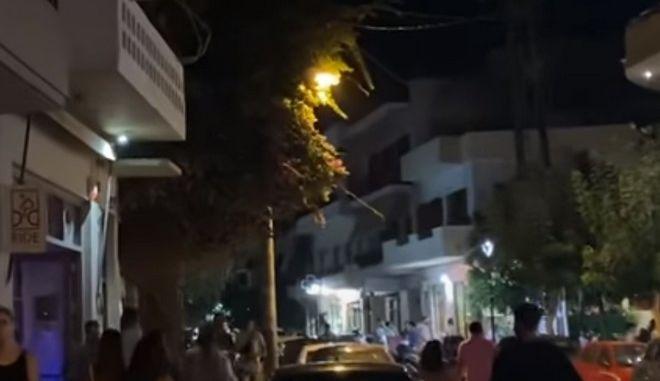 """Κρήτη: Μαγαζί στα Χανιά έκλεισε στις 12 με τον """"Ήλιο"""" του ΠΑΣΟΚ στη διαπασών"""