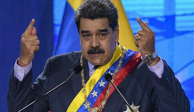 Ο ηγέτης της Βενεζουέλας Νικολάς Μαδούρο