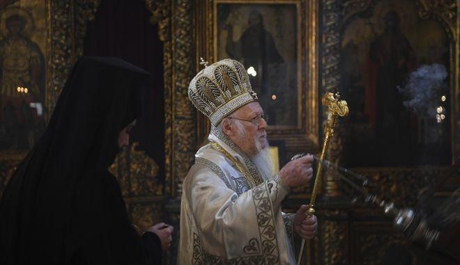 Ο Οικουμενικός Πατριάρχης. Φωτό αρχείου.