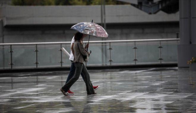 Βροχόπτωση στο Μαρούσι