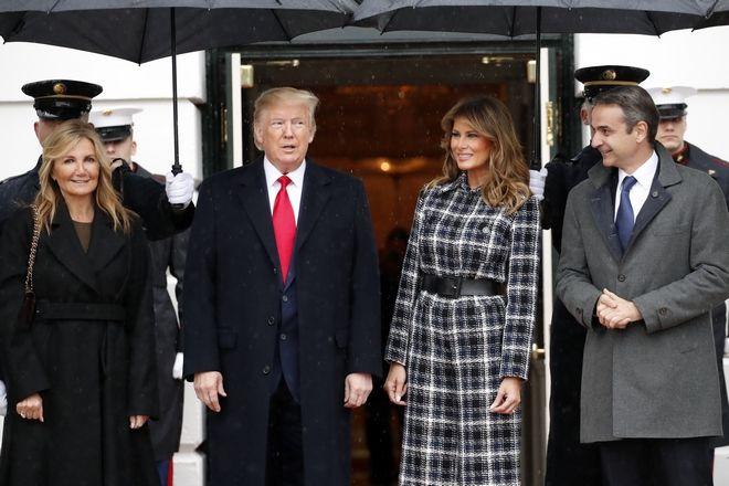 Η συνάντηση Μητσοτάκη-Τραμπ στον Λευκό Οίκο