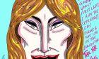 """Το σκίτσο του Τζιμ Κάρεϊ για τη Μελάνια Τραμπ: """"Αντίο στη χειρότερη Πρώτη Κυρία"""""""