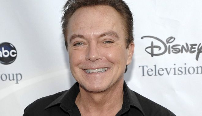 "FILE - This Aug. 8, 2009 file photo shows actor-singer David Cassidy, best known for his role as Keith Partridge on ""The Partridge Family,"" arrives at the ABC Disney Summer press tour party in Pasadena, Calif. Cassidy was sentenced by a Los Angeles judge on Monday, March. 24, 2014 to serve 90 days in rehab and five years on informal probation on a drunken driving case filed after the 1970s heartthrob's arrest earlier this year. (AP Photo/Dan Steinberg, File)"
