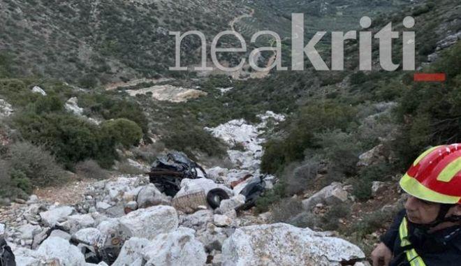 Τροχαίο στην Κρήτη: Σε σταθερή κατάσταση η μητέρα, εκτός κινδύνου τα παιδιά