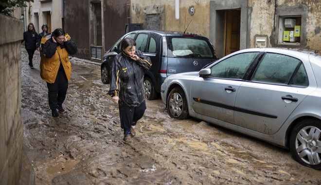 Πλημμύρες στη Γαλλία. Φωτό αρχείου.