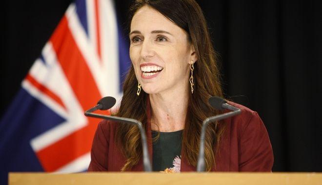 Η πρωθυπουργός της Νέας Ζηλανδίας, Jacinda Ardern