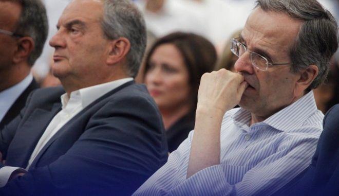 Συνεδρίαση της Πολιτικής Γραμματείας της Νέας Δημοκρατίας. Τετάρτη 12 Ιουλίου 2017 (EUROKINISSI/ΓΙΩΡΓΟΣ ΚΟΝΤΑΡΙΝΗΣ)
