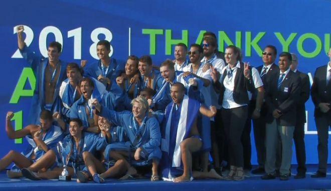 Εθνική υπερηφάνεια: Πρωταθλητές κόσμου οι έφηβοι στο πόλο